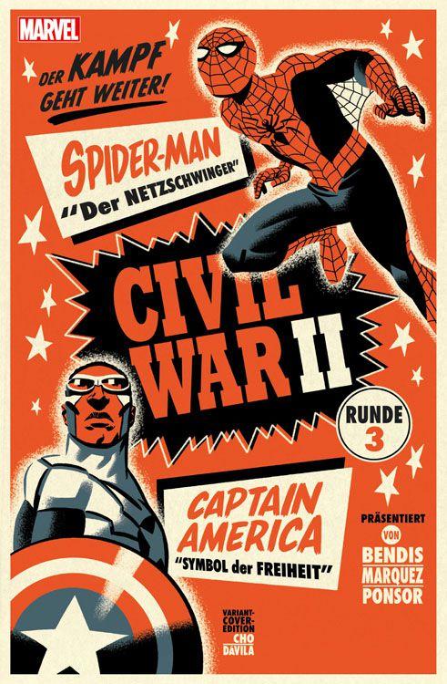 Civil War II Band 4 Variant