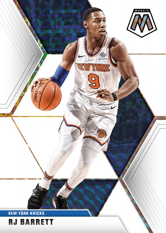 NBA Basketball Mosaic Trading Cards 2019/20 - RJ Barrett