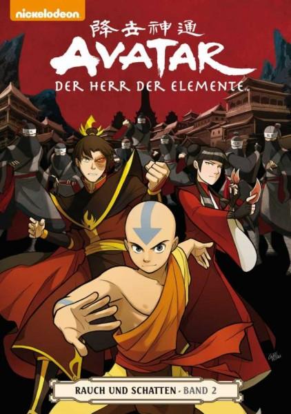 Avatar - Der Herr der Elemente 12: Rauch und Schatten 2 - Cover