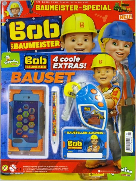 Bob der Baumeister Magazin Special 15