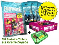Fortnite Reloaded Trading Cards - Save-the-World-Bundle mit Gratis-Prämie