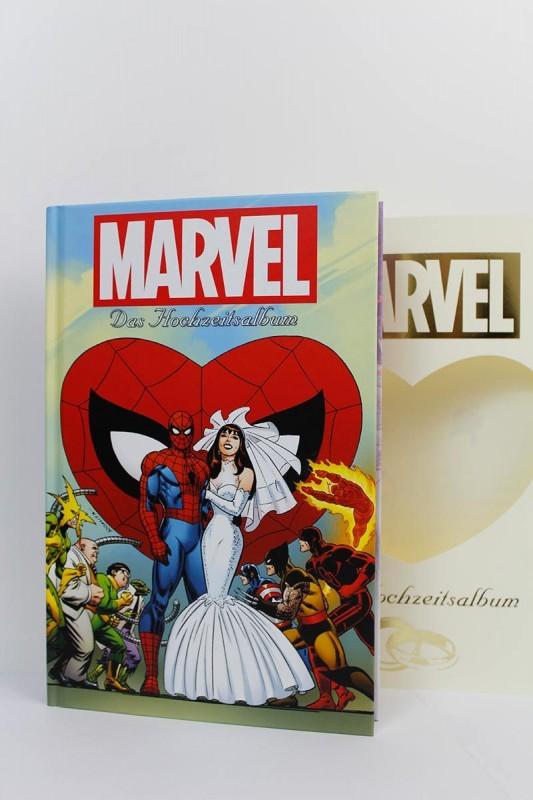 Das Marvel-Hochzeitsalbum ohne Umschlag