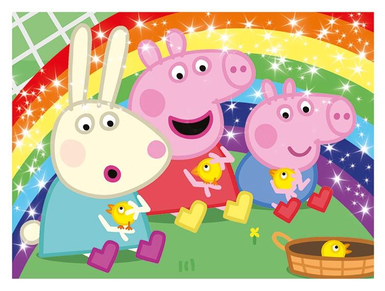 Peppa Pig - Alles, was ich mag - Stickerkollektion Glitzersticker Vorschau