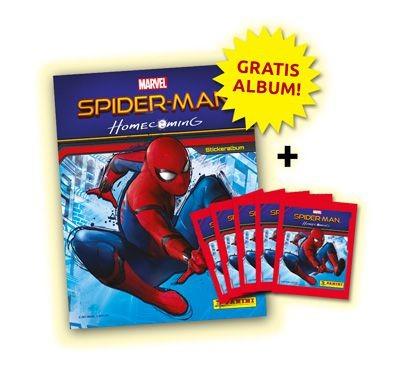 Spider-Man Homecoming Stickerkollektion - Bundle 3