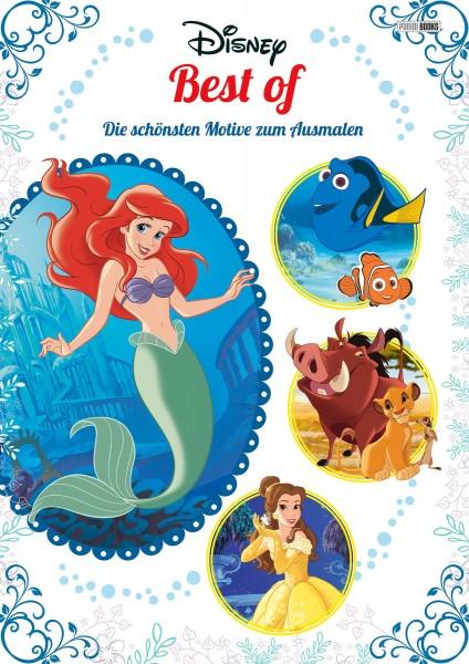 Disney - Best of - Die schönsten Motive zum Ausmalen