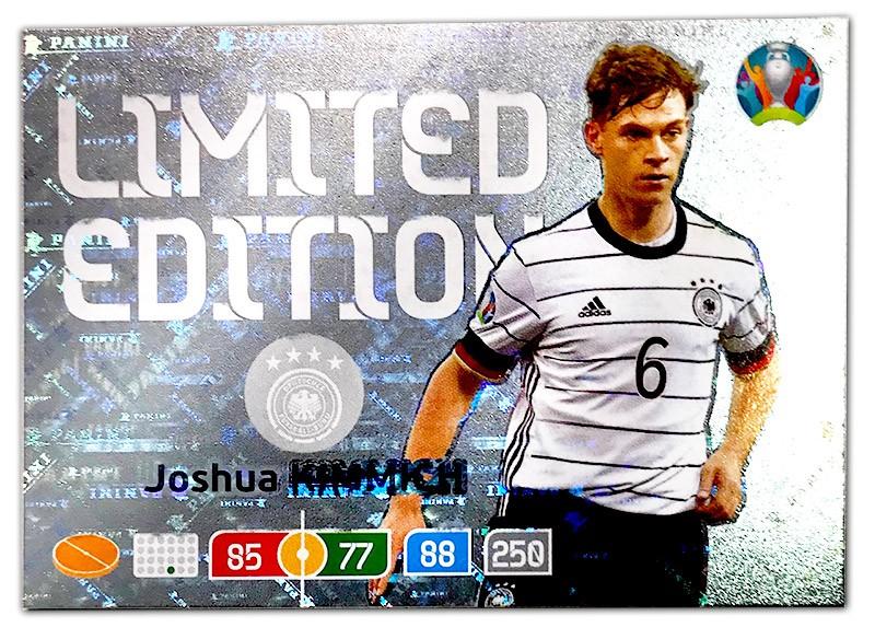 Abbildung der Euro 2020 Limited Edition Card von Joshua Kimmich