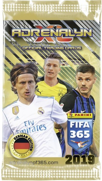 Panini FIFA 365 Adrenalyn XL 2019 Kollektion – Tüte