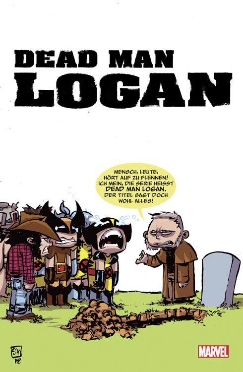 Dead Man Logan 1 Variant
