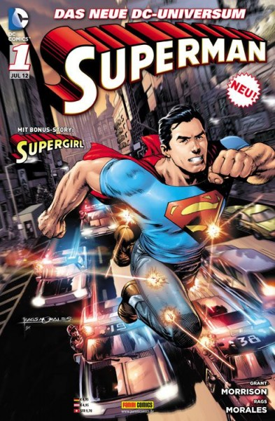 Superman 1 Bams Variant