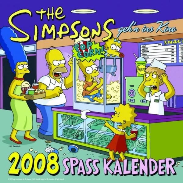 Die Simpsons - Wandkalender (2008)