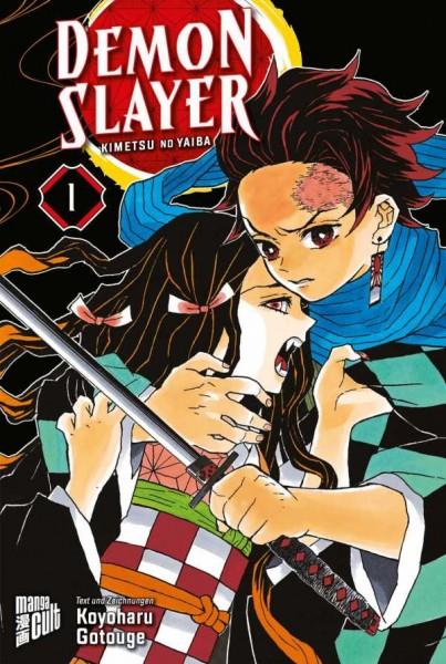 Demon Slayer: Kimetsu No Yaiba 1 Cover