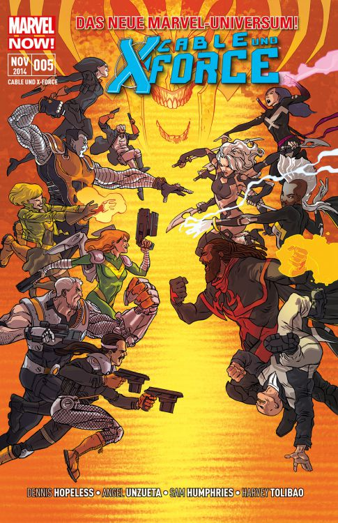 Cable & X-Force 5