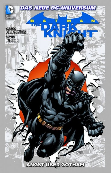 Batman: The Dark Knight Paperback 2: Angst über Gotham Hardcover