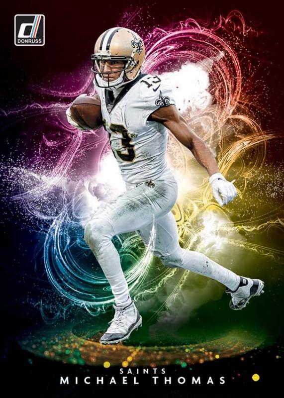 NFL Trading Cards - Donruss Football 2020 - Michael Thomas Night Moves