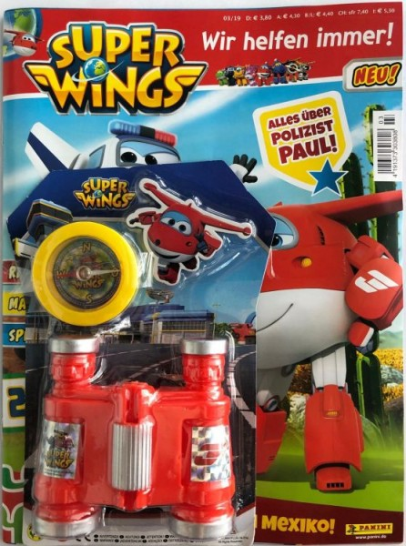 Super Wings Magazin 03/2019 Cover