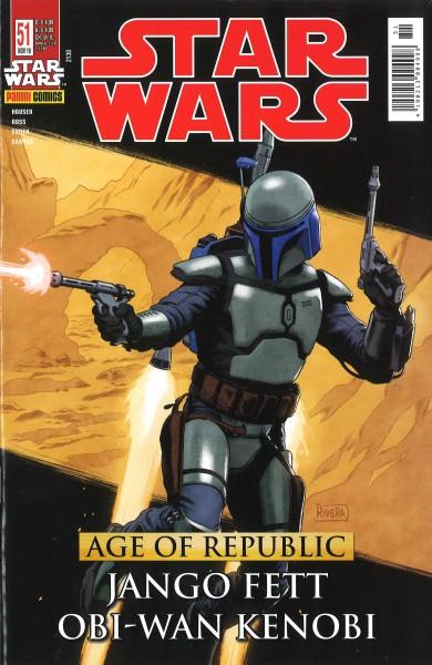 Star Wars 51: Age of Republic: Jango Fett & Obi-Wan Kenobi - Kiosk Ausgabe