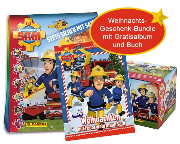 Feuerwehrmann Sam Weihnachts-Geschenk-Bundle