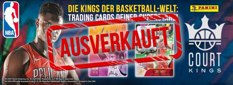 NBA Court Kings 2019/20 Trading Cards - Die Kings der Basketball-Welt: Trading Cards deiner Superstars!