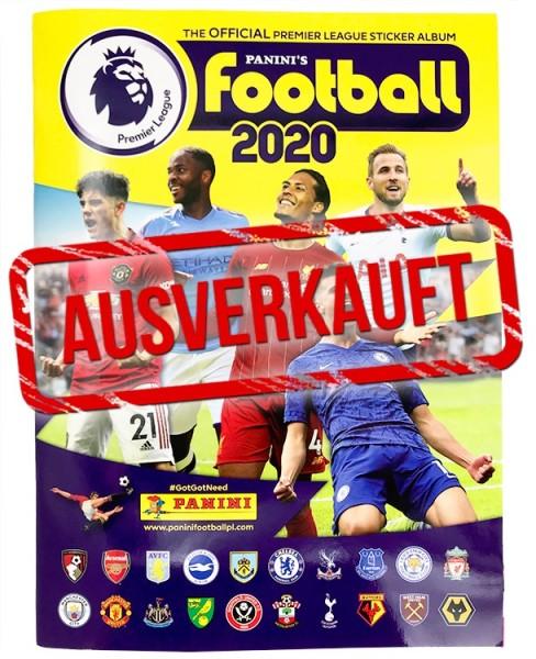 Premier League 2020 Stickerkollektion - Album ausverkauft