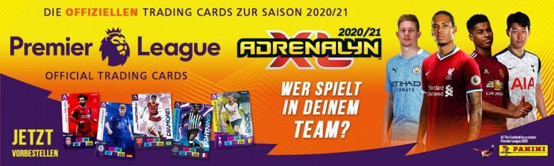 Panini Premier League Adrenalyn XL 2020/21 - Banner vorbestellen