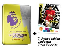 Panini Premier League Adrenalyn XL 2020/21 Kollektion – Pocket-Tin Gelb