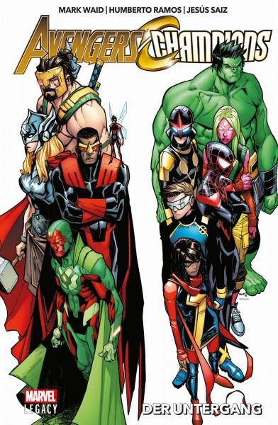 Marvel Legacy: Avengers/Champions - Der Untergang