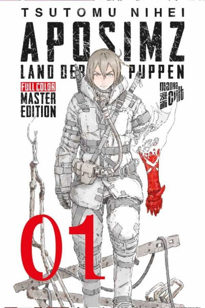 Aposimz - Land der Puppen 1: Full Color Master Edition Cover