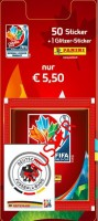 FIFA Frauen WM Sticker-Kollektion - Blister