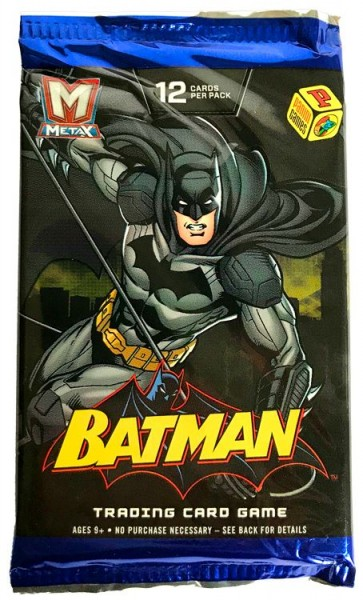 Batman Metax: Trading Card Game - 1 Booster