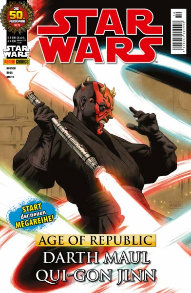 Star Wars 50 - Age of Republic - Darth Maul & Qui-Gon Jinn - Kiosk Ausgabe