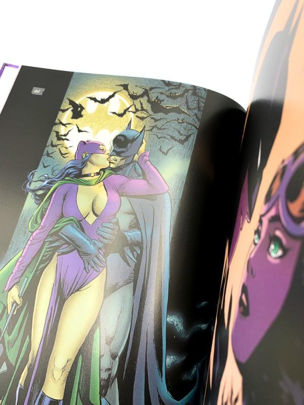 Batman und Catwoman das Hochzeitsalbum – Blick in den Comic Vorschauseite