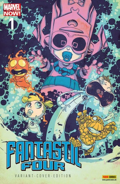 Fantastic Four 1 Marvel-Baby-Variant - Comic Action 2013