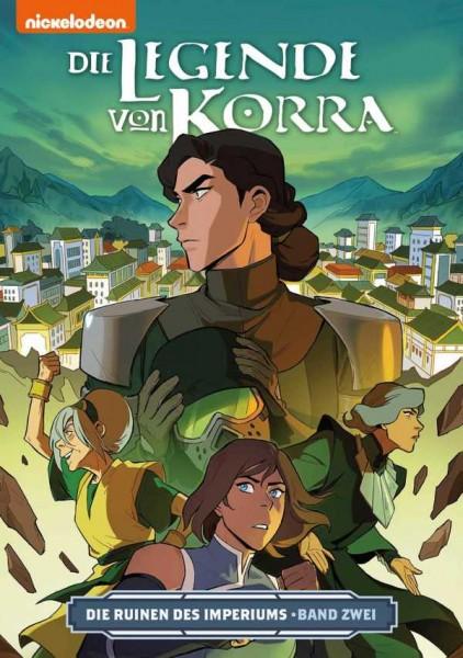 Die Legende von Korra 5: Die Ruinen des Imperiums 2 Cover