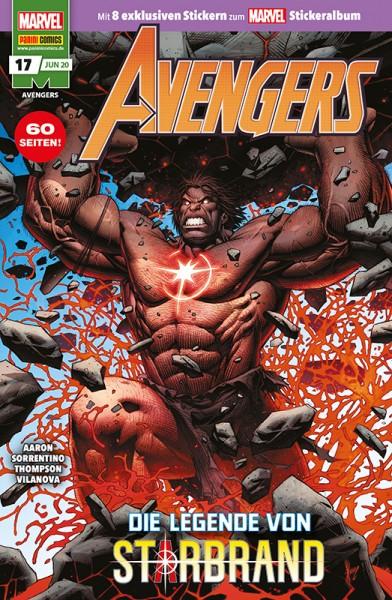 Avengers 17 Cover