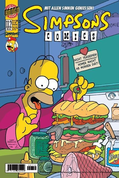 Simpsons Comics 112