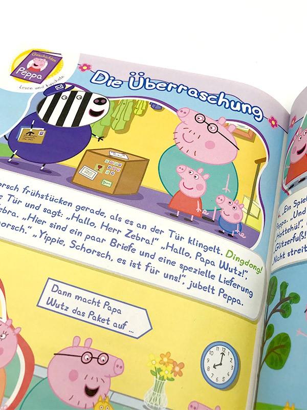 Peppa Pig Magazin Innenansicht Geschichte