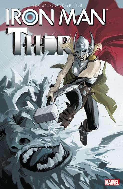 Iron Man/Thor 3 Variant - Comic...