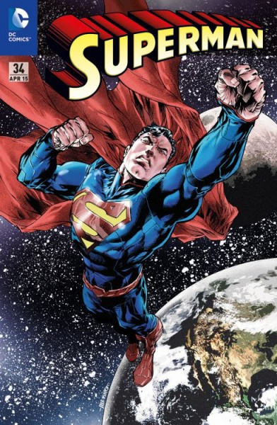 Superman 34 Variant - Leipziger Buchmesse 2015
