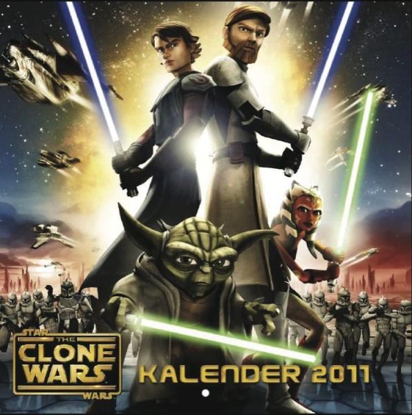 Star Wars Clone Wars - Wandkalender (2011)