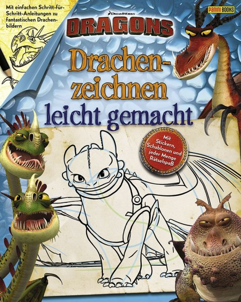 Dragons - Drachenzeichnen leicht gemacht