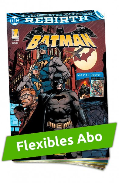 Flexibles Abo - Batman Heft