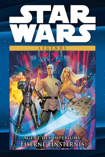 Star Wars Comic-Kollektion 103: Agent des Imperiums - Eiserne Finsternis Cover