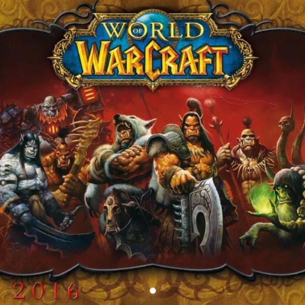 World of Warcraft - Wandkalender (2016)