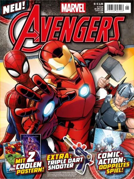 Avengers Magazin #1