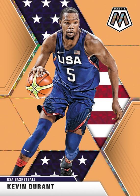 NBA Basketball Mosaic Trading Cards 2019/20 - Kevin Durant