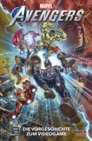Marvel's Avengers Die Vorgeschichte zum Videogame Cover