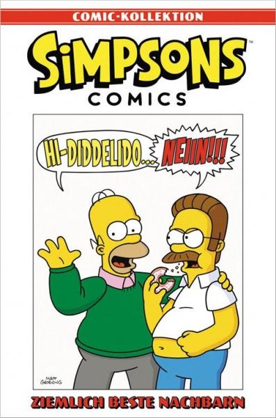 Simpsons Comic-Kollektion 22: Ziemlich Beste Nachbarn Cover