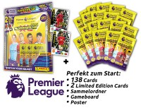 Panini Premier League Adrenalyn XL 2020/21 Kollektion – Starter-Bundle