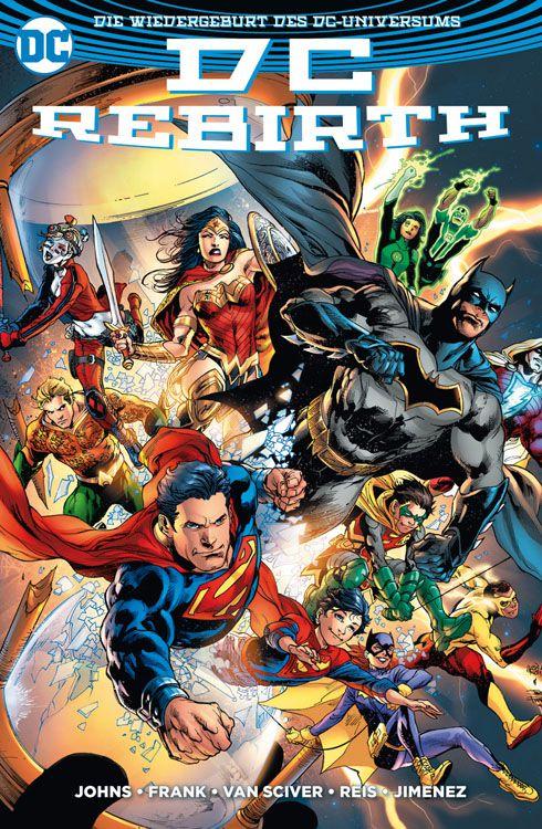 DC Rebirth - Die Wiedergeburt des...