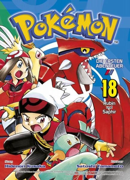 Pokémon - Die ersten Abenteuer 18: Rubin und Saphir